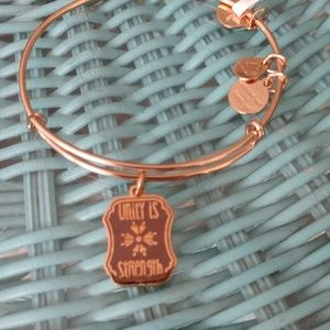 """ALEX AND ANI WORDS R POWERFUL """"UNITY IS STRENGTH""""!"""